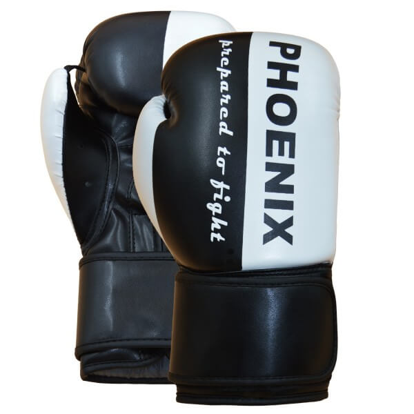 "PX Boxhandschuh ""Prepared to Fight"" PU s/w"
