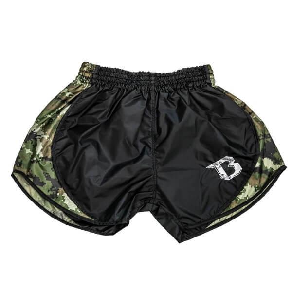 BOOSTER Muay Thai Shorts Hybrid light Camo-Green