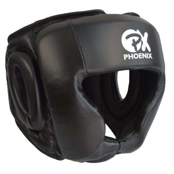 PX PHOENIX Kopfschutz Kunstleder schwarz Gr L