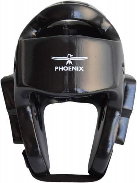 Kopfschützer schwarz PU-Schaumstoff XS