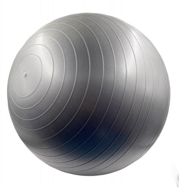 Trainingsball, Gym Ball, 75 cm grau