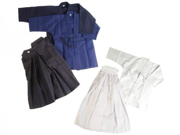 Hakama Gr 150/25 Kendo & Aikido weiß