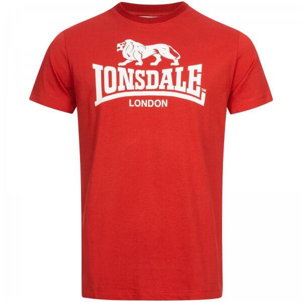 LONSDALE T-Shirt Herren ST. Erney Red
