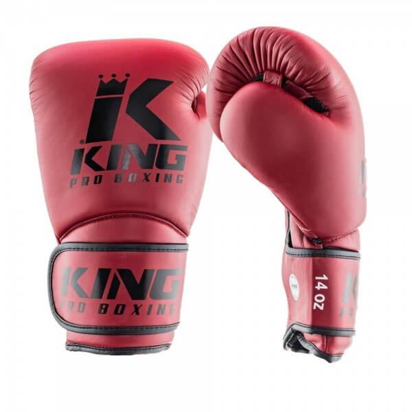 KING Pro Boxing Boxhandschuhe Leder Star Mesh 3