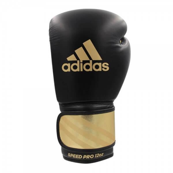 ADIDAS Leder Boxhandschuhe Speed Pro black/gold