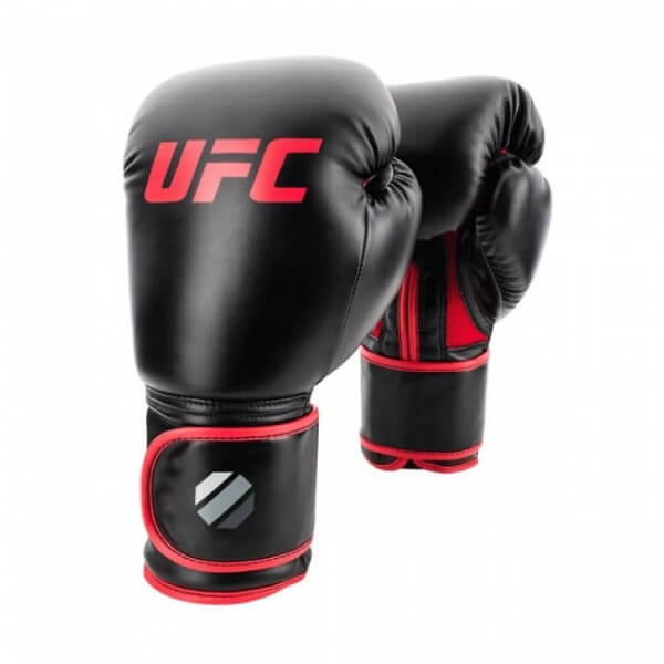UFC Contender Muay Thai Style Training Gloves 12 oz black/red