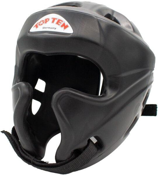 """Kickbox Kopfschutz """"Training"""" mit Jochbeinschutz - schwarz, Einheitsgröße"""