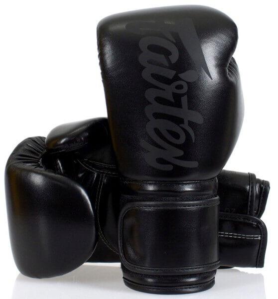 FAIRTEX BGV14SB Boxhandschuhe schwarz/s 12oz