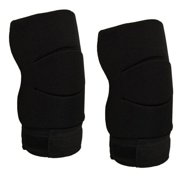 Knieschoner-Elastikbandage schwarz Gr Junior