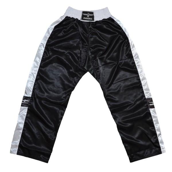 PHOENIX Kickboxhose TOPFIGHT, schwarz-weiß, 120