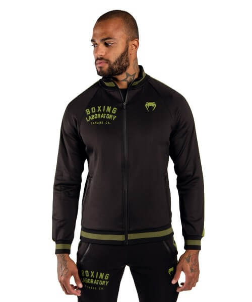 VENUM Boxing Lab Track Jacket - Black/khaki