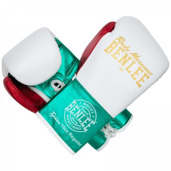 BENLEE Wettkampf Schnür Boxhandschuhe TYPHOON Mexican