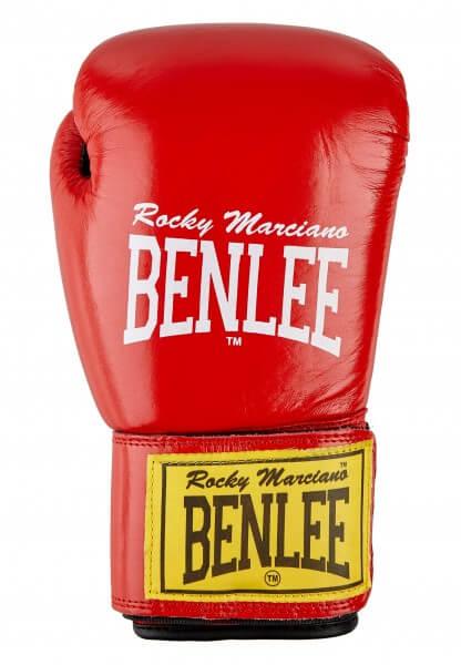 BENLEE Boxhandschuhe FIGHTER aus Leder-rot