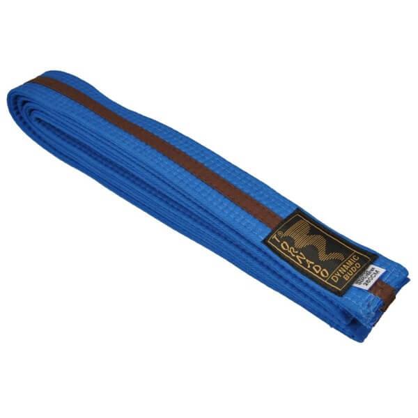 Budogürtel blau-braun 240 cm