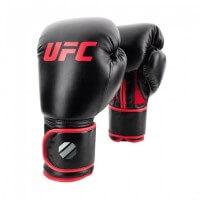 UFC Contender Muay Thai Style Training Gloves 12 oz black/red Schwarz/Rot