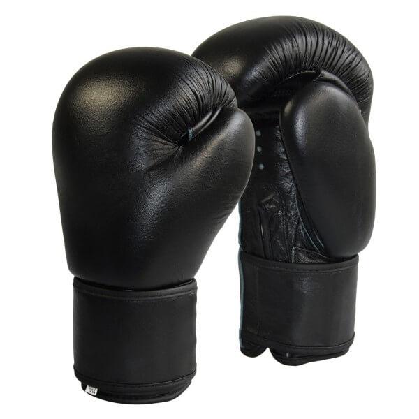 Boxhandschuhe Top-Modell schwarz Echtleder 8 oz