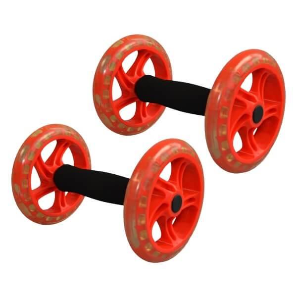 Premium Bauchtrainer AB Roller 2er Set