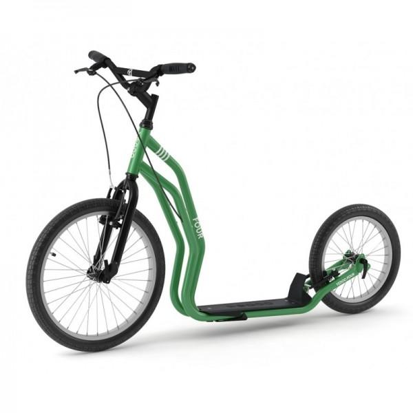 YEDOO 'FOUR 20/16' Green ab 150 cm Körpergröße bis 120 Kg