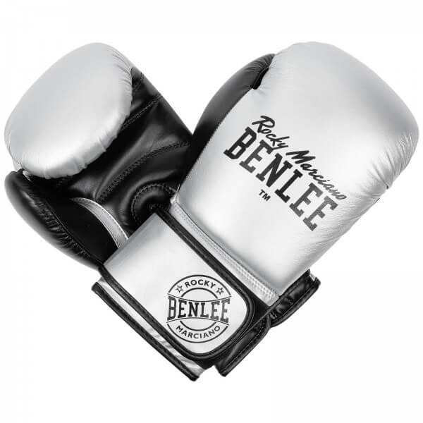 BENLEE Boxhandschuhe Carlos Silver/Black