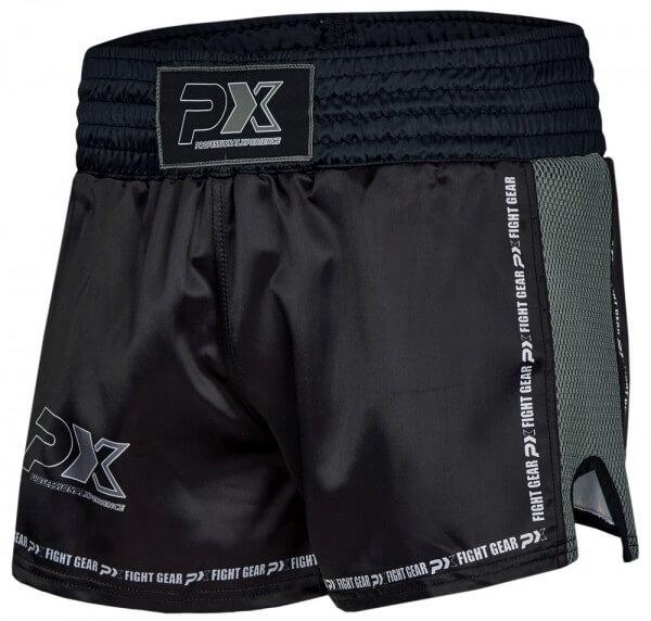 "PX Thai Shorts ""Dynamic"", Mesh, schwarz-grau"