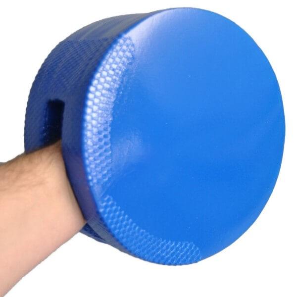 Schaumstoff-Handpratze,weich, beidseitig, blau