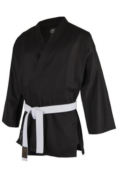 Kampfsport Jacke Standard schwarz