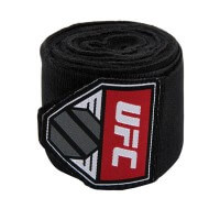 """UFC Contender 180"""" Hand Wraps black Schwarz"""