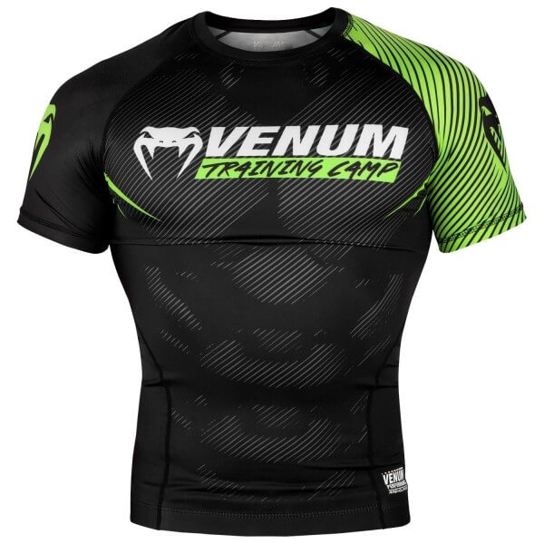 VENUM Training Camp 2.0 Rashguard - Kurzarm