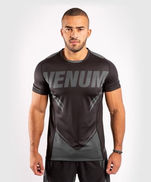Venum ONE FC2 Dry Tech Shirt - Black/ Black S