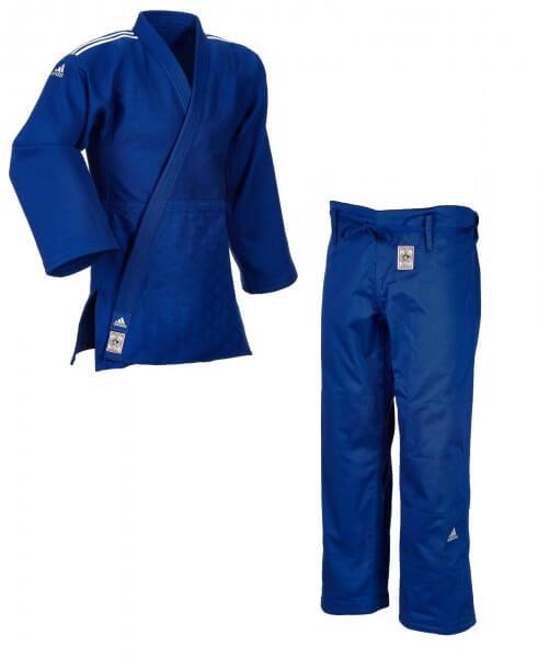 "ADIDAS ""CHAMPION II"" IJF Judogi blau SF 150"