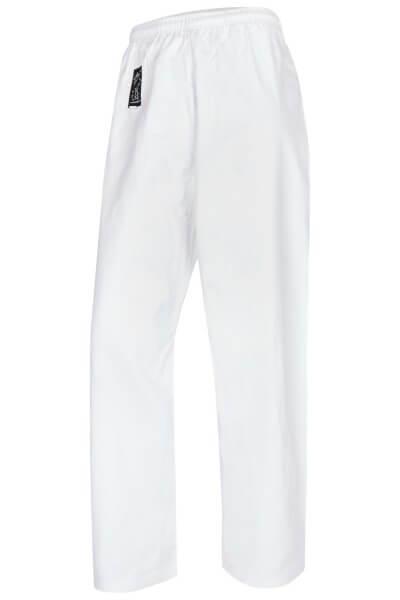 Standardhose weiß Elastikbund, Gr. 110cm