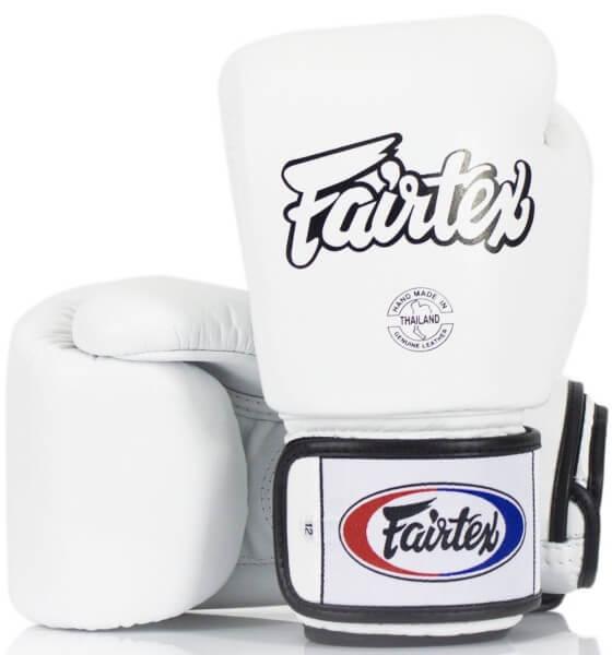 FAIRTEX BGV1 Boxhandschuhe weiß 12oz