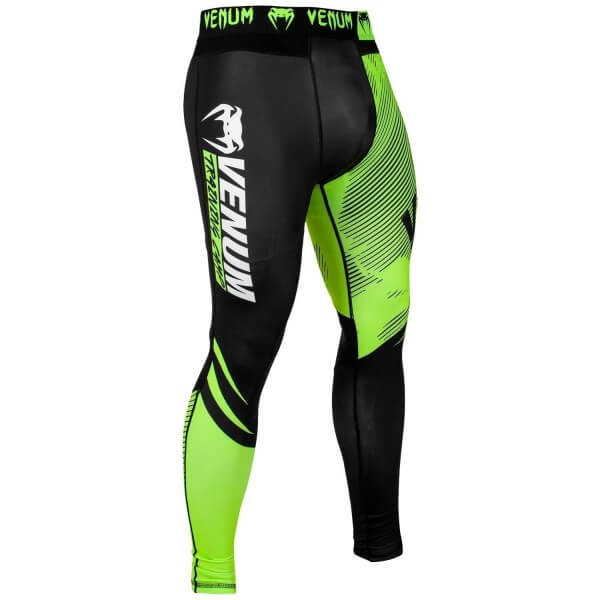 Venum Training Camp 2.0 Spats - Black/Neo Yellow L