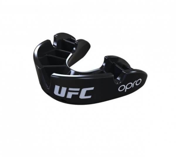 """OPRO """"UFC"""" MMA Mundschutz Zahnschutz -Black, Senior"""