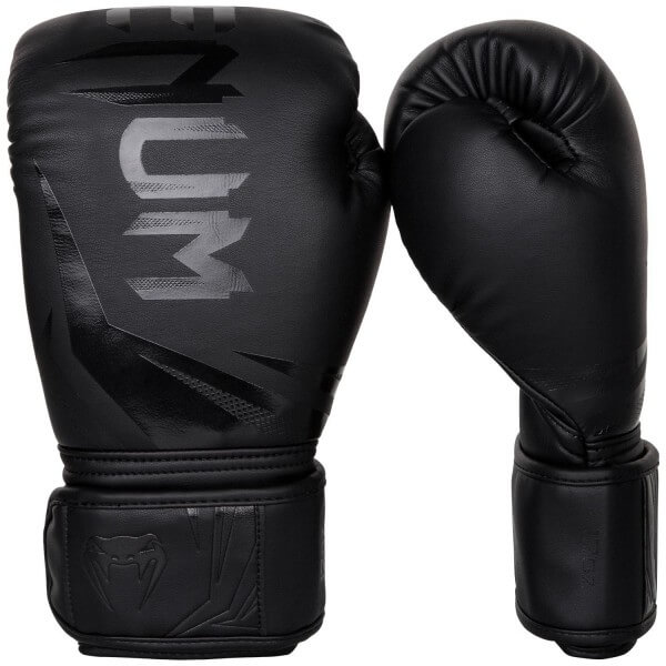 Venum Challenger 3.0 Gloves - Black/Black 10oz