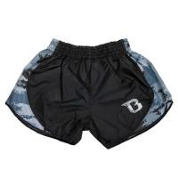 BOOSTER Muay Thai Shorts Hybrid Camo/Grey