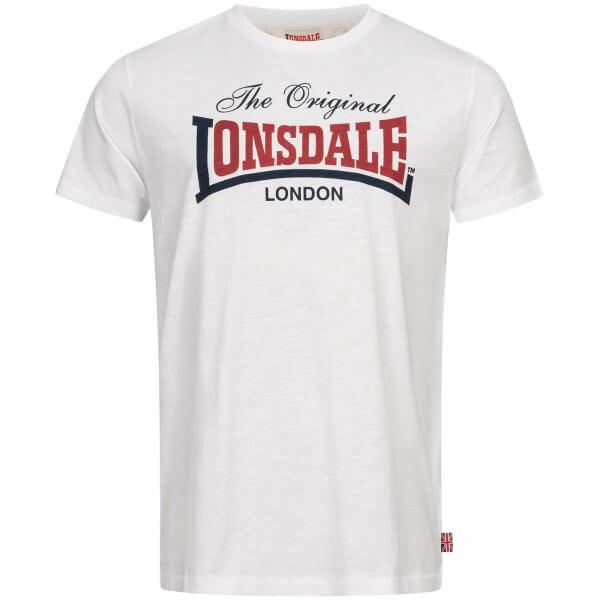LONSDALE Herren T-Shirt Aldingham White