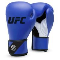 UFC Fitness Training Glove blue Rot/Schwarz