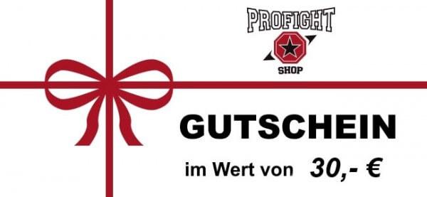 Geschenk-Gutschein - Code 30,- €