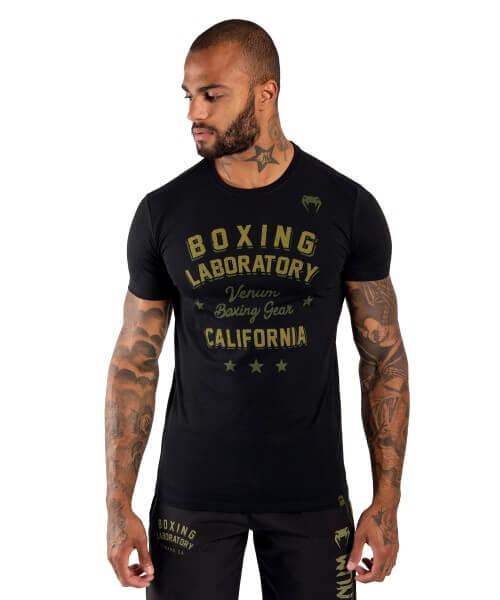 VENUM Boxing Lab T-shirt - black/khaki
