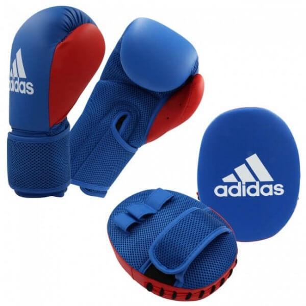 ADIDAS Kids Boxing Kit 2 blue/red