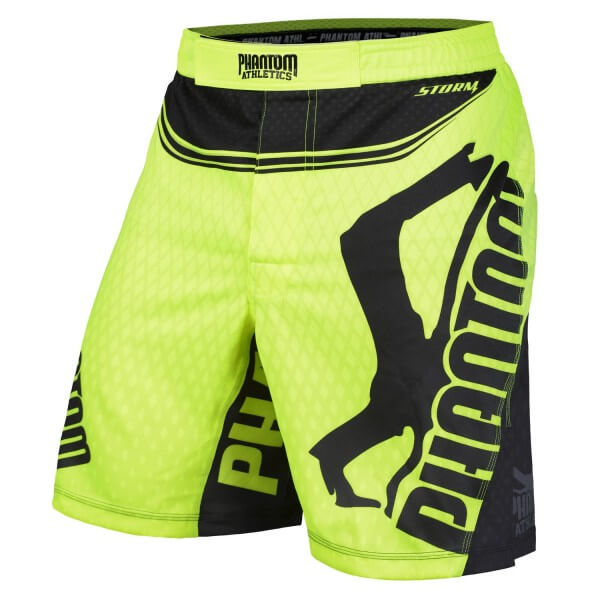 PHANTOM MMA Fight SHORTS STORM NITRO NEON