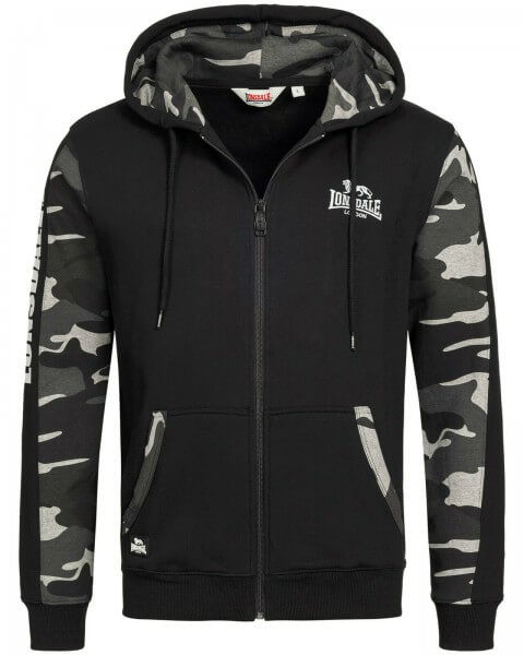 LONSDALE Hoodie Lordship Camo