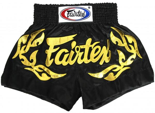 FAIRTEX Thai Shorts schwarz BS0646 S