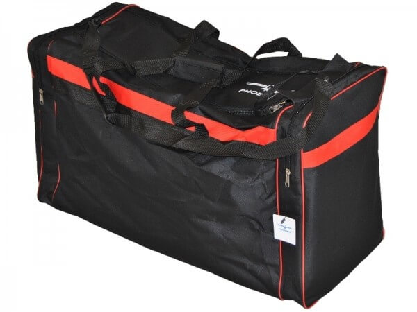 PHOENIX Sporttasche schwarz-rot Gr. S