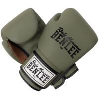 BENLEE Leder Boxhandschuhe EVANS Army-Green