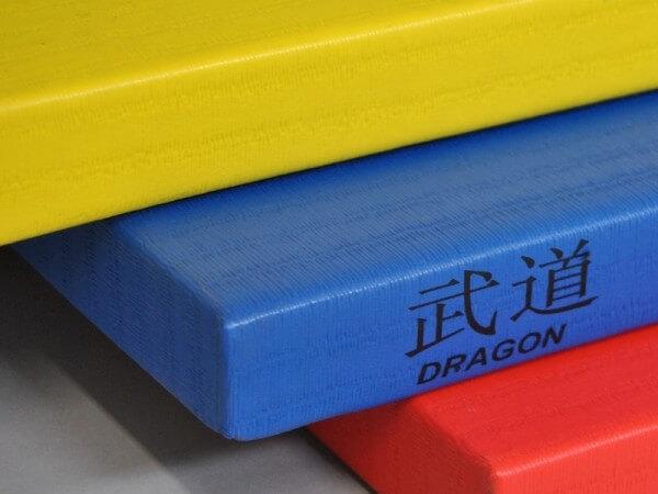 Judomatte DRAGON 100x100x4 cm blau RG230
