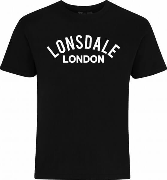 LONSDALE T-Shirt Herren Bradfield Black