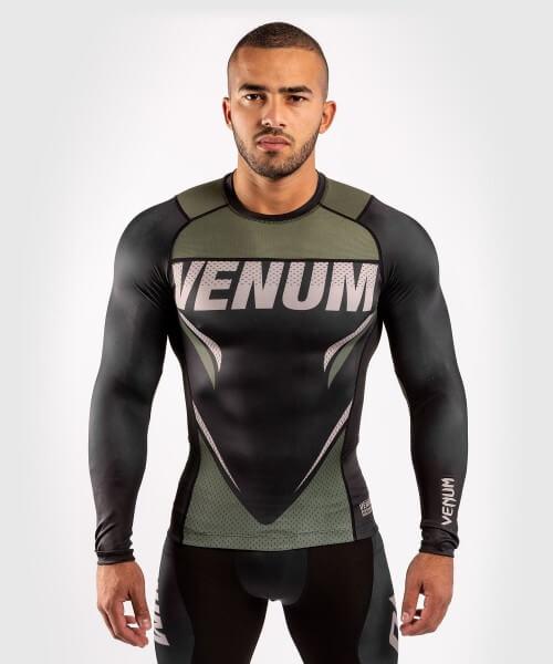 Venum ONE FC2 Rashguard Long Sleeves Black / Khaki S