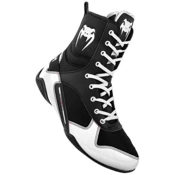 VENUM Elite Boxschuhe schwarz/weißGr. 38,5